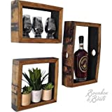 Reclaimed Bourbon Barrel Wall Mount Shadow Boxes Review