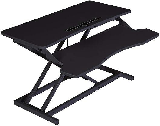 IDS Home 2-Tier Standing Tabletop Desk Workstation