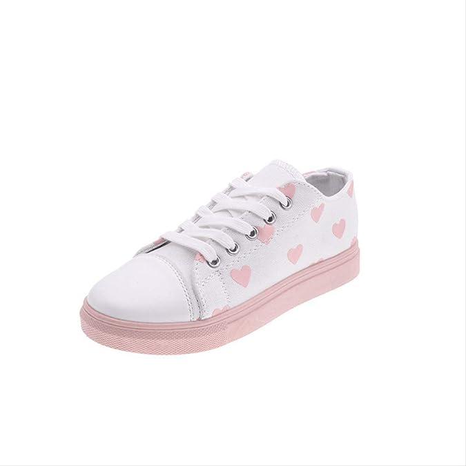 Empate con El Color del Amor Casual Zapatos De Lona De Baja Ayuda ...