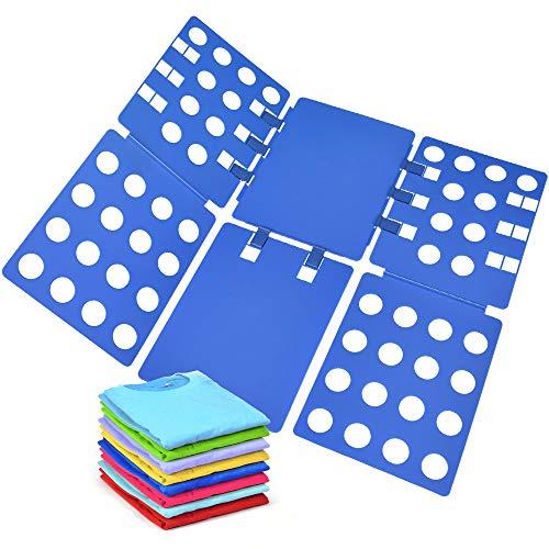 Geniusidea Shirt foding Board Tshirt Folding Board t Shirt Folder Clothes flip fold Plastic flipfold Laundry Room Organizer