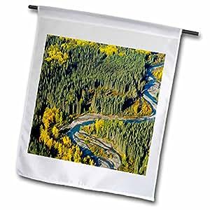 Danita Delimont - Rivers - Todagin Creek, River, South Slope, British Columbia-CN02 PCL0159 - Paul Colangelo - 12 x 18 inch Garden Flag (fl_74627_1)