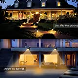 URPOWER Solar Lights Outdoor, Upgraded 2 Modes
