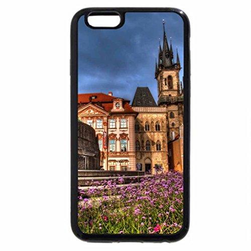 iPhone 6S / iPhone 6 Case (Black) Prague Square
