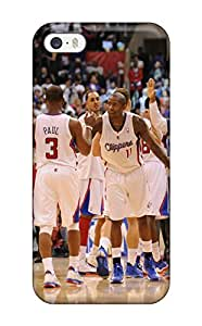 Premium Tpu Los Angeles Clippers Basketball Nba (20) Cover Skin For Iphone 5/5s