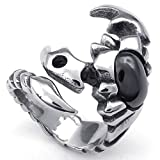 Best Scorpion Golf Irons - Stainless Steel Rings, Men's Bands Punk Gothic Tribal Review