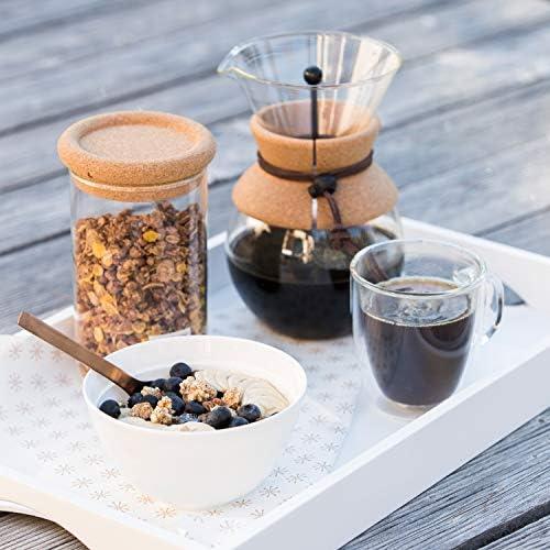 BODUM - 11592-109 - POUR OVER - Cafetière, filtre permanent maille inox, 4 tasses - 0.5 l