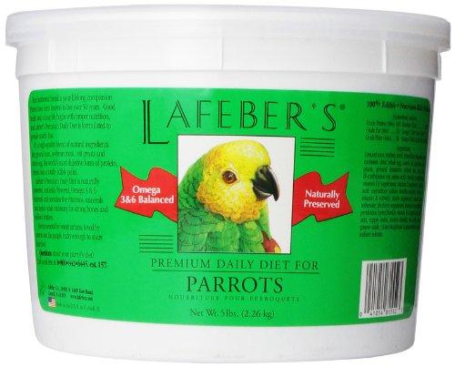 Lafeber Company Parrot Pellets Premium Daily Diet Pet Food, 5-Pound