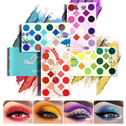 EYESEEK 64 Colors Eyeshadow Palette Professional High Pigmented Makeup Pallet Colorful Rainbow Color Makeup Eyeshadow…