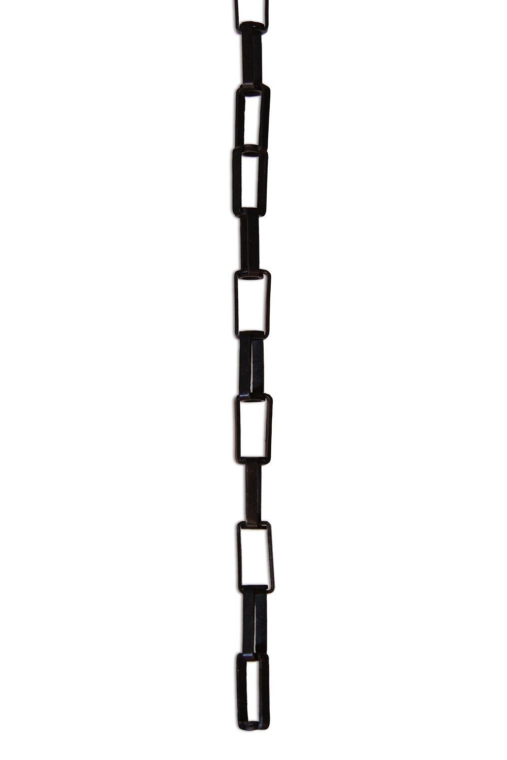Lighting RCH Supply Company RCH Hardware CH-09-AD Acid Dipped Solid Brass Chain for Hanging Rectangular Cage with Centre Hole and Welded Links 1 Foot