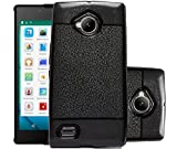 ECellStreet Soft Back Case Cover With Camera protection For Micromax Canvas Amaze 4G Q491 - Black