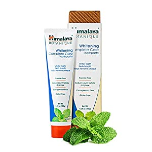 Himalaya Healthcare Whitening Complete Care Toothpaste Simply Peppermint Paste, 0.03 Pound