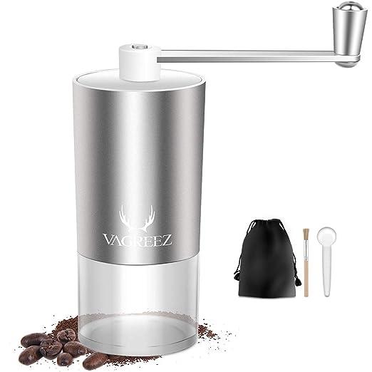 Molinillo de café manual, de aluminio molinillo de café ...