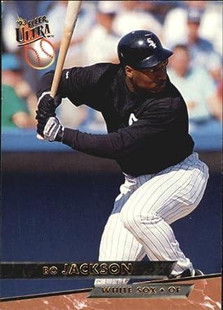 Amazoncom 1993 Ultra Baseball Card 534 Bo Jackson Mint