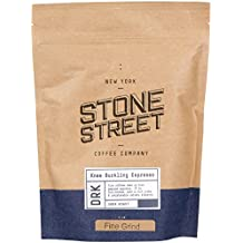 KNEE BUCKLING ESPRESSO High Caffeine | Fine Grind Coffee | 1 LB Bag | Extra Strong | Medium Dark Roast | Bold & Balanced Intense Flavor | Ground Fresh | 100% Arabica