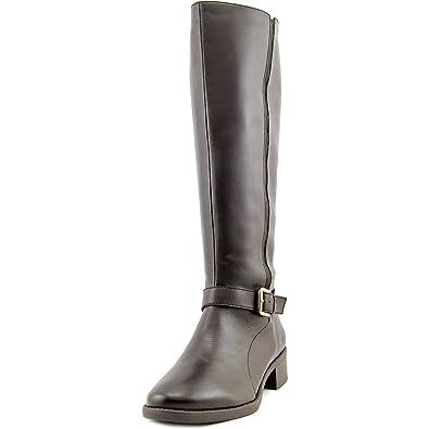 e9c1d73b3d4 Easy Spirit Nadette Women US 7.5 Brown Knee High Boot