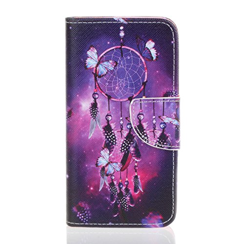 Coffeetreehouse Sony Xperia E5 High Quality Colorful Painting PU Leather...