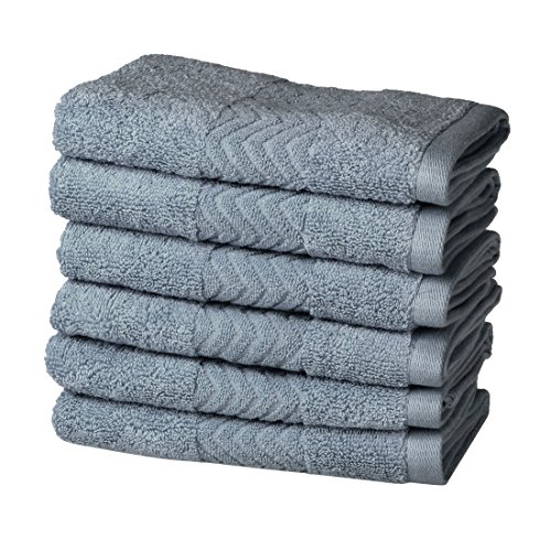 uxcell Luxury Hotel & Spa Soft Bath Towels, 100% Cotton 6 Pi