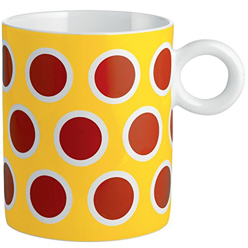 Alessi MW58 4 Decorative Circus,Mug, Multicolor