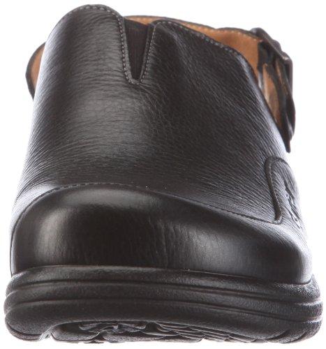Ganter AKTIV Fabia, Weite F 3-202337-02000 - Zuecos de cuero para mujer Negro