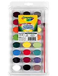 Crayola 24 Ct Washable Watercolors