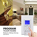 BN-LINK 7 Day Programmable In-Wall Timer Switch for