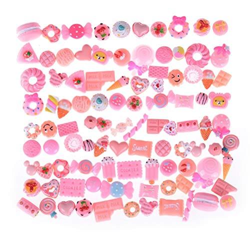 Accessories Diy - Mobile Phone Diy 10pcs Artificial Resin Candy Sweet Food Kawaii Toys Dollhouse Miniatures Wholesale - Accessories Wholesale Figurines Miniatures Scale Model House Miniature