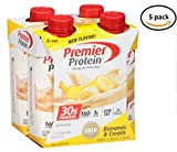 Premier Protein Bananas & Cream High Protein Shake 4 Ct. -11 fl. oz. Aseptic Cartons-5 Pack