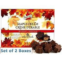 TURKEY HILL Maple Cream Chocolate 81g x 2 Boxes
