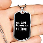 Zuchon v2 - Luxury Dog Tag Necklace Lover Owner Mom Birthday Gifts Jewelry 7