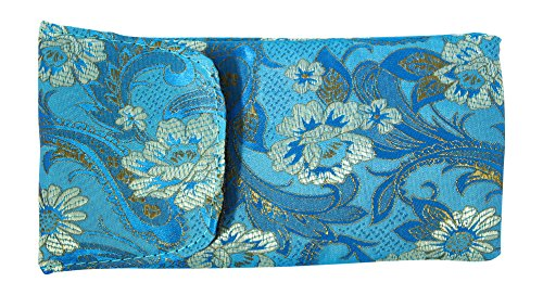 3 Pack Floral Eyeglass Case Top Closure, Slip In Eyeglass Case Soft Fits Medium To Large Glasses, Women by Ron's Optical (Image #3)