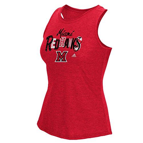(NCAA Miami (Ohio) Redhawks Women's Mascot Jumble Tank Top, XX-Large, Red)