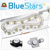 3387747 & 279973 Dryer Heating Element With Dryer Thermal Cut-off Fuse Kit by Blue Stars- Exact Fit for Whirlpool Kenmore Dryer