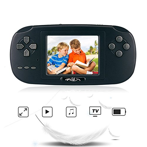 Warning: If you have had seizures or other unusual reactions to flashing lights or paterns, consult a doctor before playing video games.Poduct Introduction: PVP Game Handheld Console is small and portable,you can take it anywhere!It's very ea...