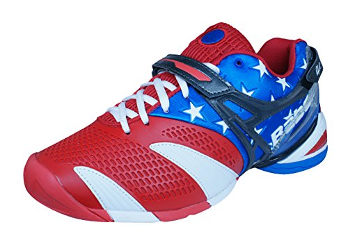 Babolat Propulse 3 Andy roddick Stars and Stripes Mens Tennis Sneakers/Shoes-Red-9