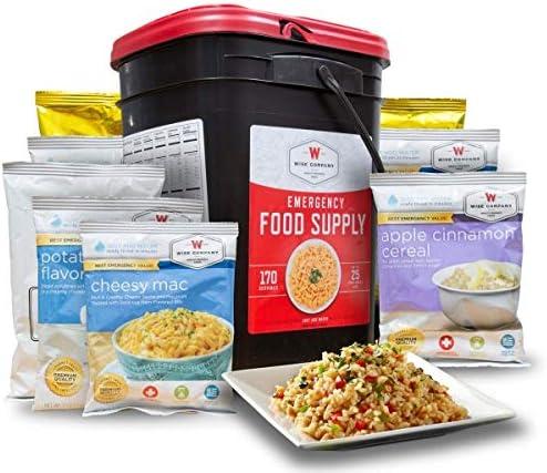 Amazon.com : Wise Company Emergency Food Preparedness Kit, 170 Serving :  Sports & Outdoors