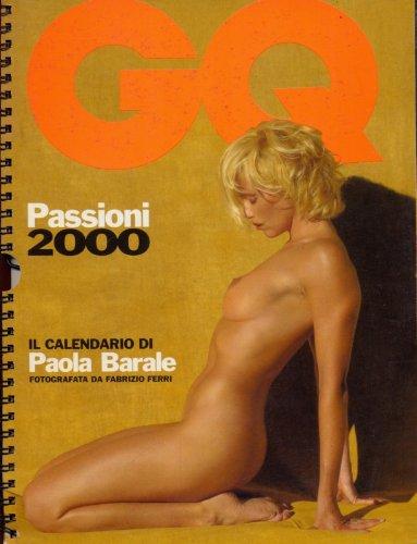 Calendario Gq.Amazon It Il Calendario Di Paola Barale Gq Fotografata Da