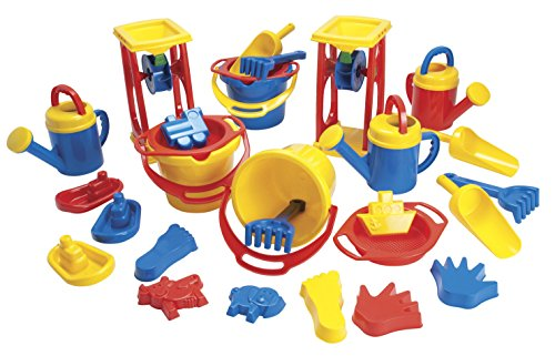 Childcraft Classroom Sand and Water Play Set, 28 Pieces