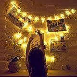 Photo Clip String Lights (16.4ft), 40 LED