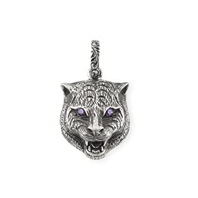 712036e36 Image Unavailable. Image not available for. Color: Gucci Garden feline head  charm YBG52341800100U