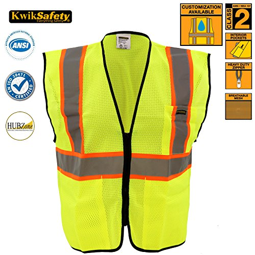 KwikSafety Construction Florescent Reflective Visibility