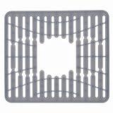 OXO 13138100V1MLNYK Sink Mat - Alfombrillas para Fregadero (Silicona, Gris, 220 °C, 320 mm, 285 mm, 60 mm)
