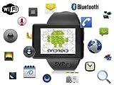 SVP® Smartwatch Android 2.2 Phone Bluetooth GPS - Z1 Black