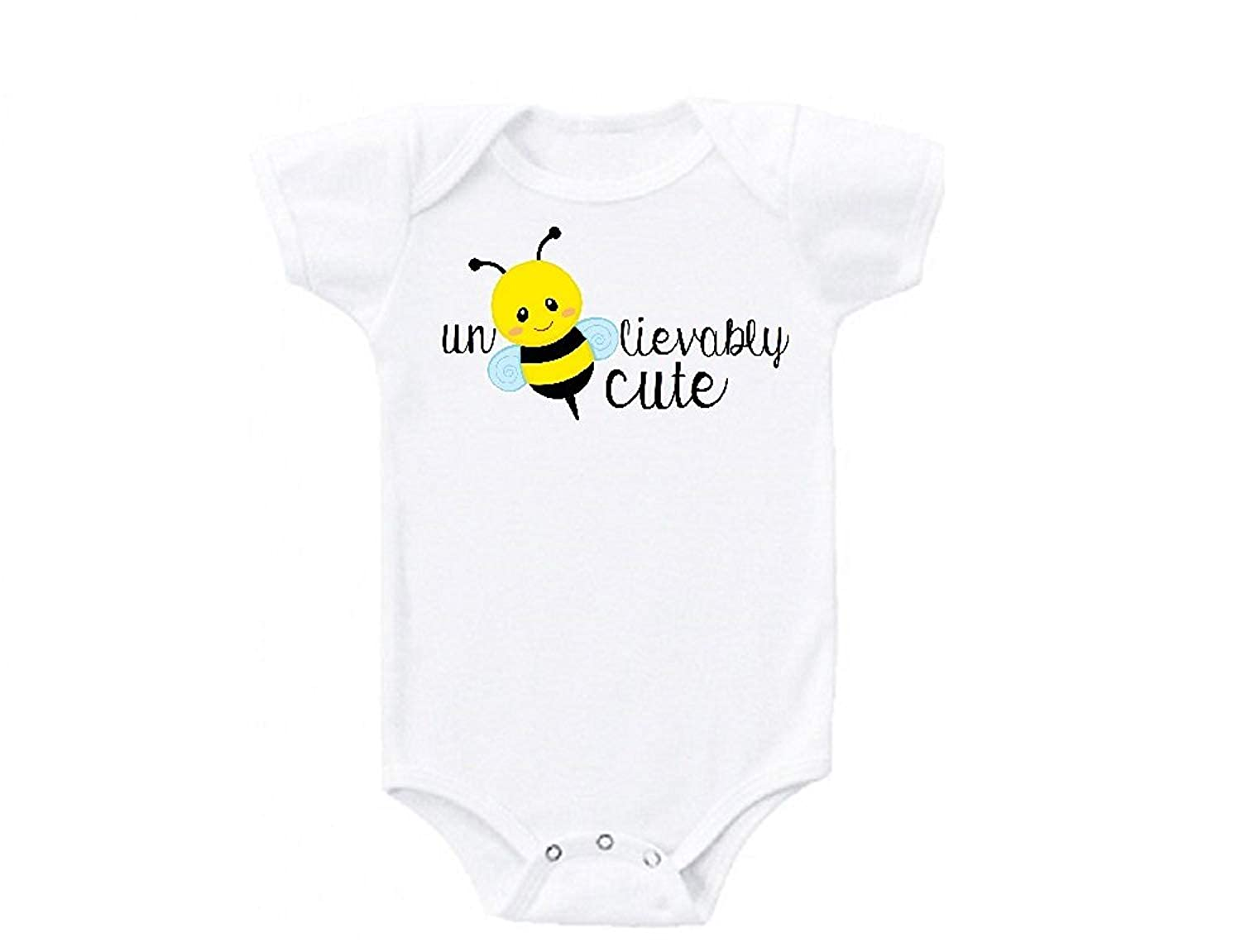 Bumble Bee Baby Bodysuit for Baby Boy Girl