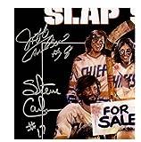 Hanson Brothers Triple Signed Slapshot 11x17