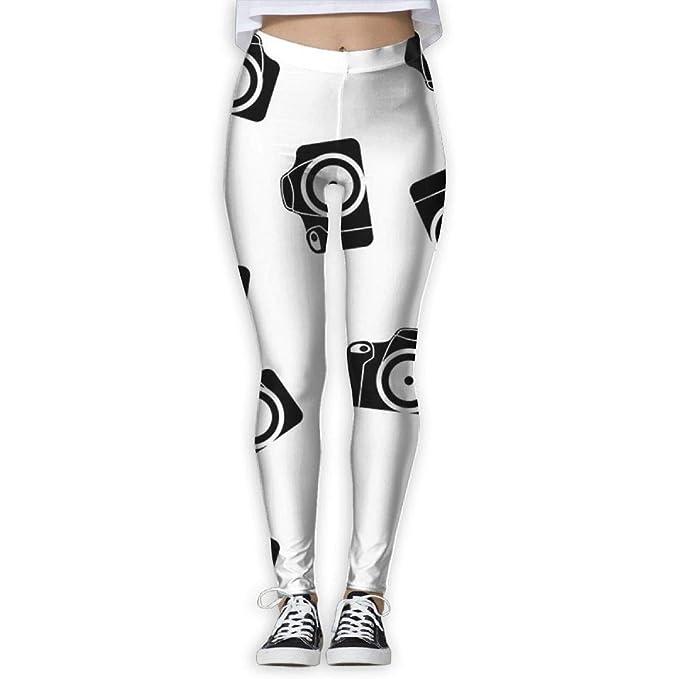 Amazon.com: SDEYR79 - Mallas de yoga para mujer con diseño ...