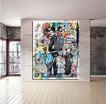 Wgxcc Diy Digitale Malerei Moderne Leinwand Malerei Graffiti