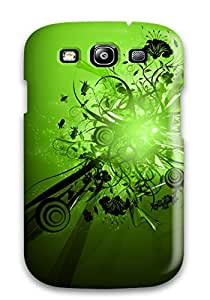 David R. Spalding's Shop 6244141K82976593 Top Quality Protection Green Case Cover For Galaxy S3