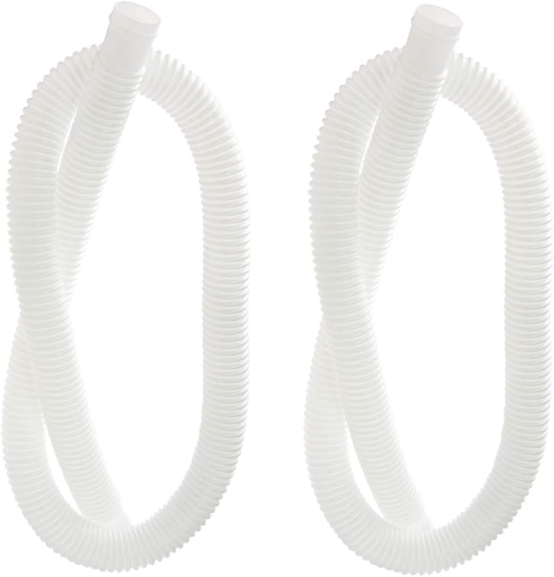 """Ximoon 2 Pack Accessory Hose Replacement for Intex 1-1/4"""" (32mm) Diameter Accessory Pool Pump Hose - 59"""" (150cm) Long"""