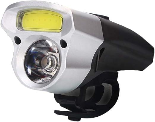 LIOOBO Bicicleta Impermeable Luz Delantera para Bicicleta ...
