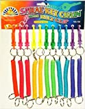 Spiral Key Chain with Belt Clip - 1 Supplied